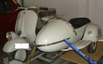 Vespa Mit Beiwagen Aus Spanien Heinkel Zündapp Messerschmitt