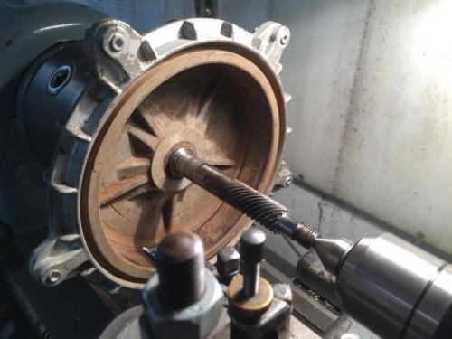 Etwas Neues genug Wie dreht man Bremstrommeln richtig aus? - Vespa Rally, Sprint #WO_49