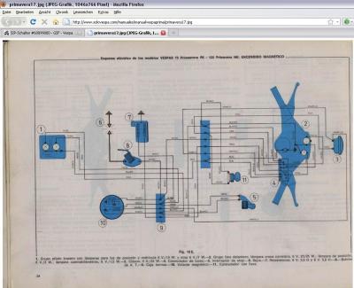 Schaltplan f. ital. Spar-PK automatica ohne Bremslicht (VA51T ...