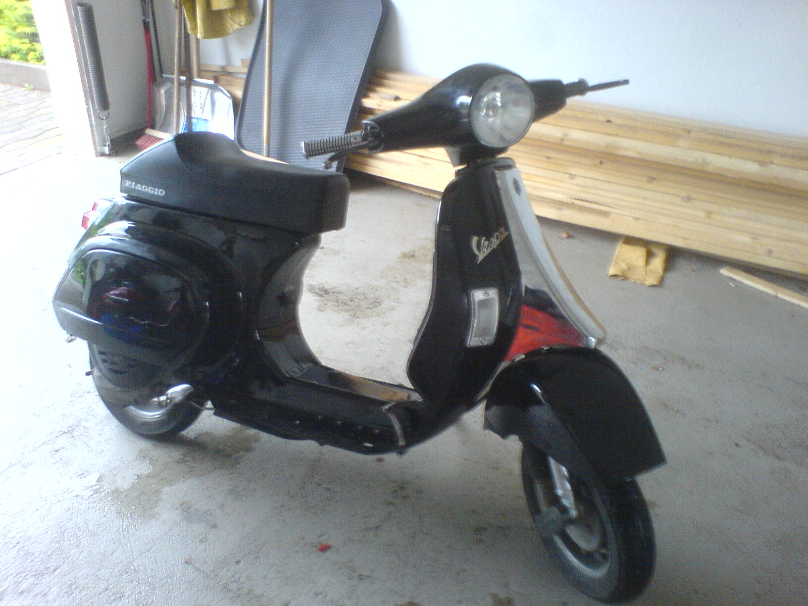 pk 50 xl2 old school vespa v50 primavera. Black Bedroom Furniture Sets. Home Design Ideas