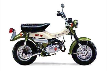 Suzuki Trailhopper Manual