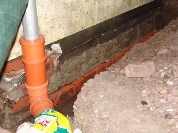 Aussenwand Beim Altbau Sanieren Gg Wasser Abdichten Blabla