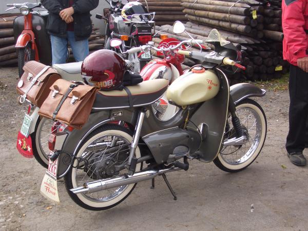 Alte Mopeds Galerie Exotenroller Und Anderes Gsf Das