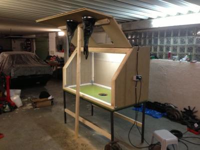 bau einer sandstrahlkabine blabla gsf das vespa lambretta forum. Black Bedroom Furniture Sets. Home Design Ideas