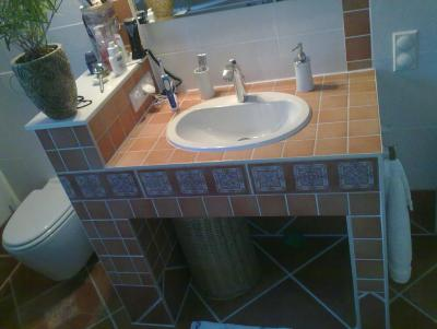 Waschtisch trockenbau  Bad Waschtisch Trockenbau / Rigips - Blabla - GSF - Das Vespa ...