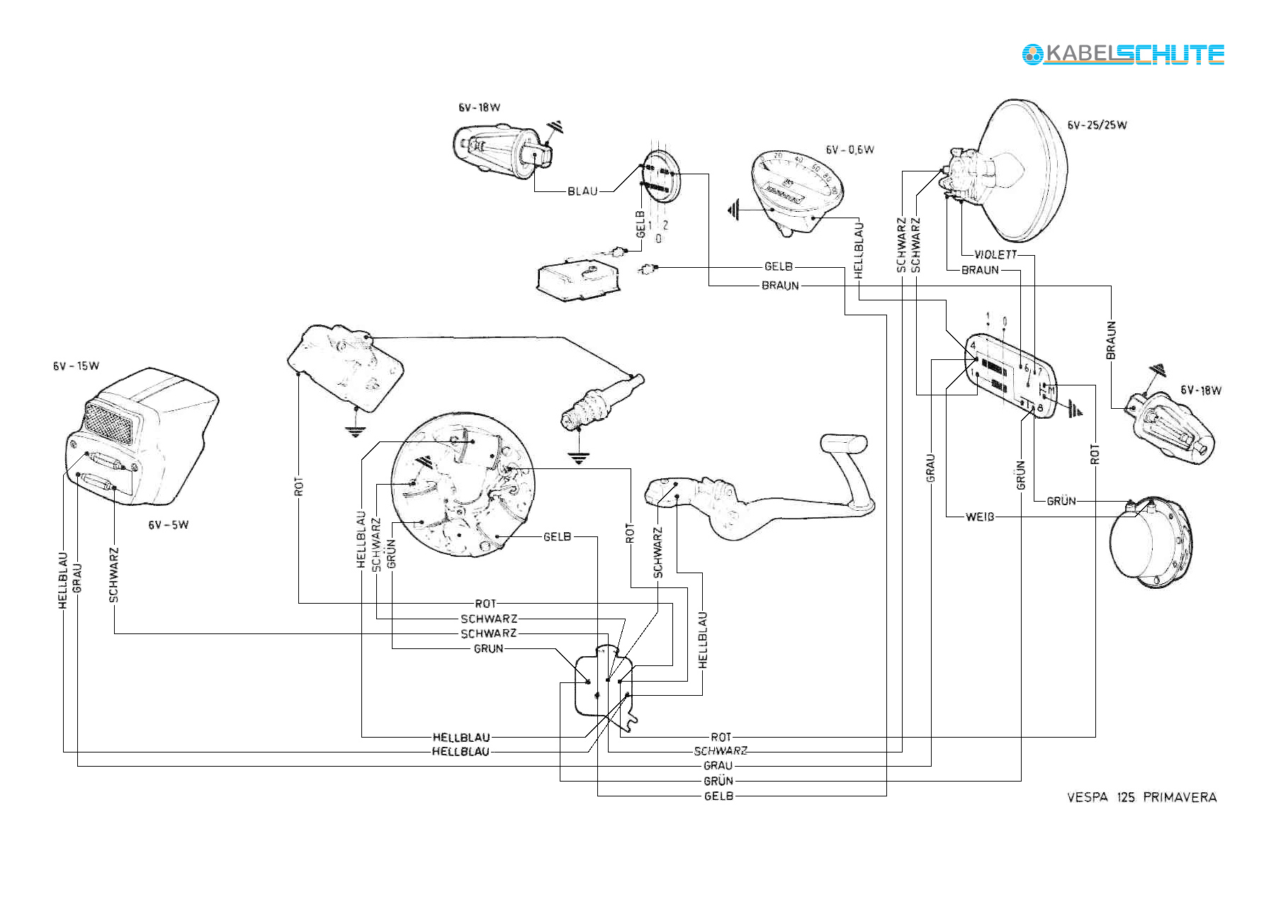 vespa 90 wiring diagram