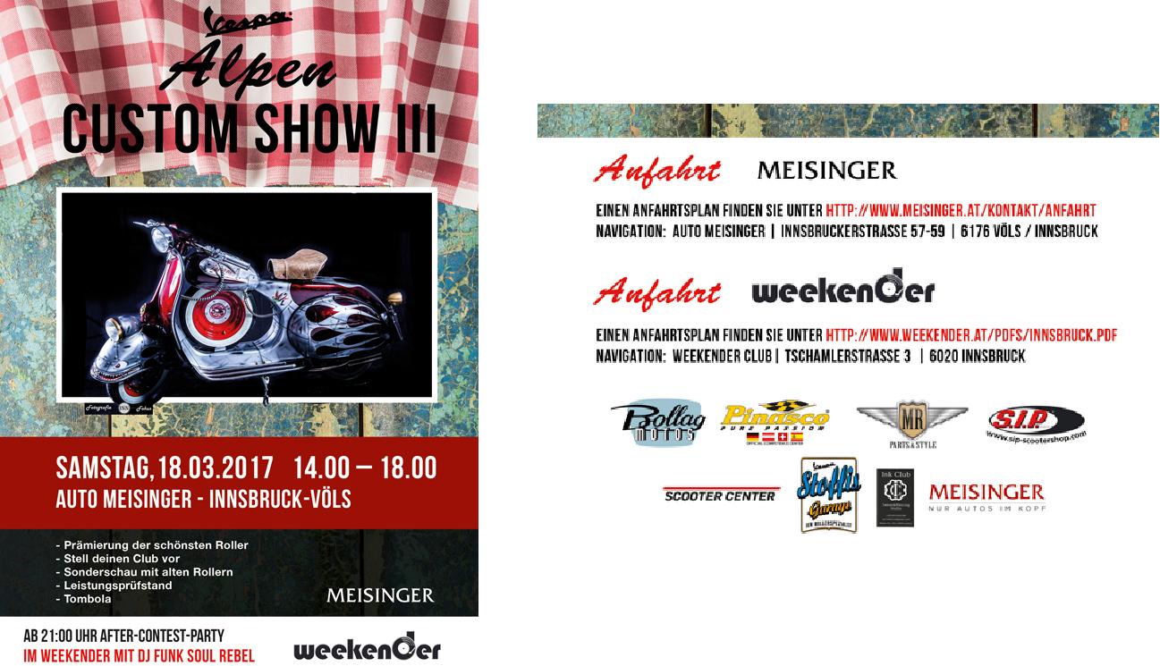 Alpen Custom Show III 18.03.2017