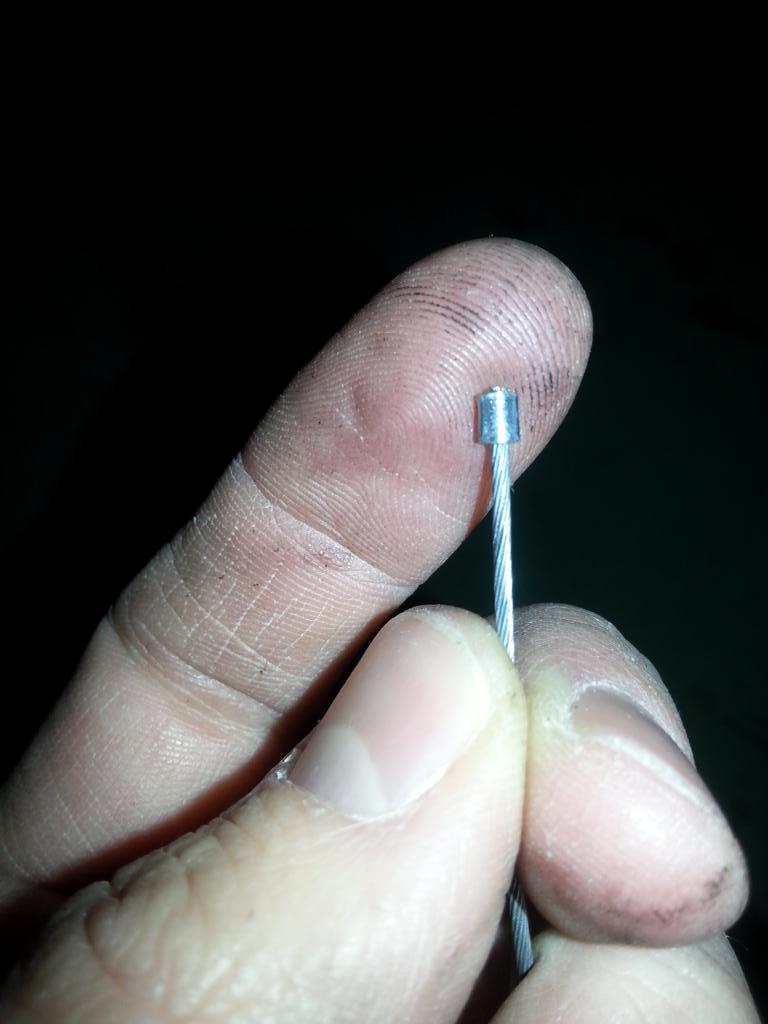 Nippel abschneiden