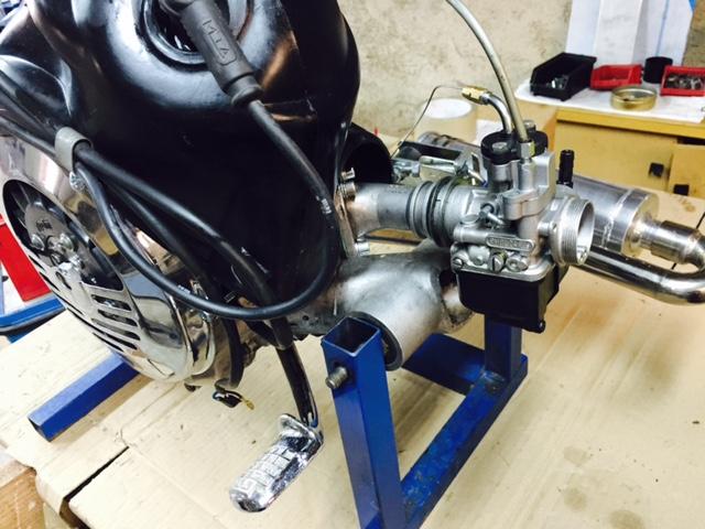 Neuer 133 Polini Evo Sf Motor Top Verkaufe Vespa Teile