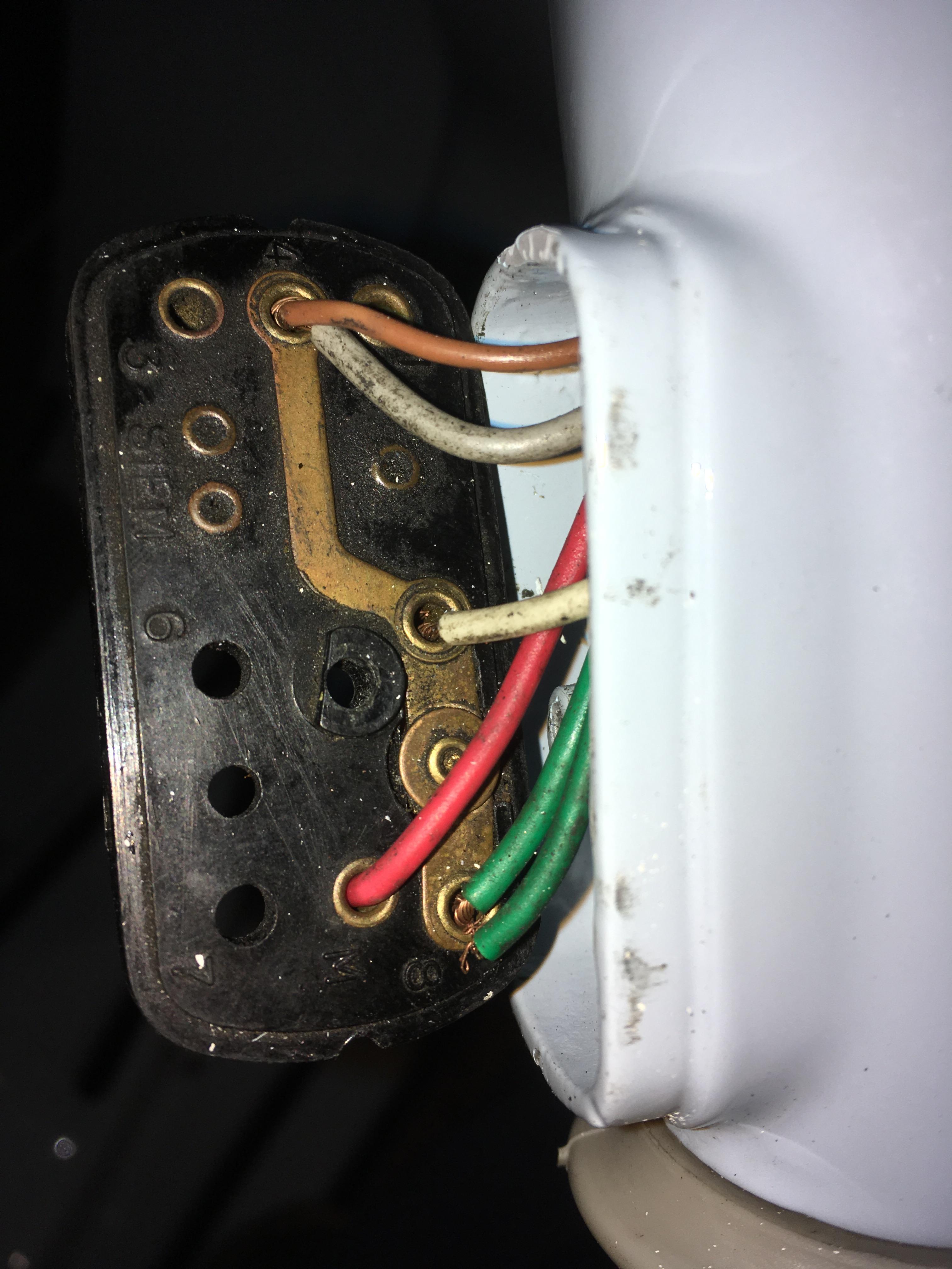 Lichtschalter Verkabelung V50 - Vespa V50, Primavera, ET3, PK, ETS ...