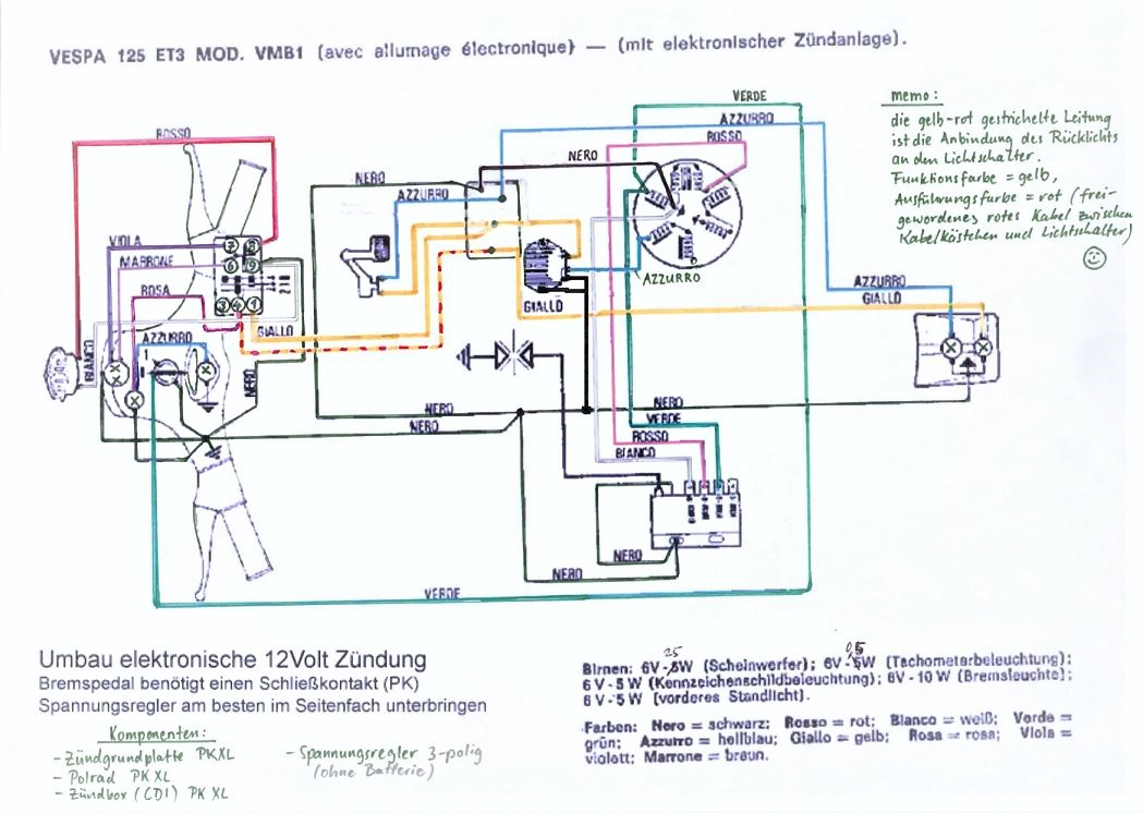 Atemberaubend Schaltplan Für 12 Volt Zündschalter Galerie - Der ...