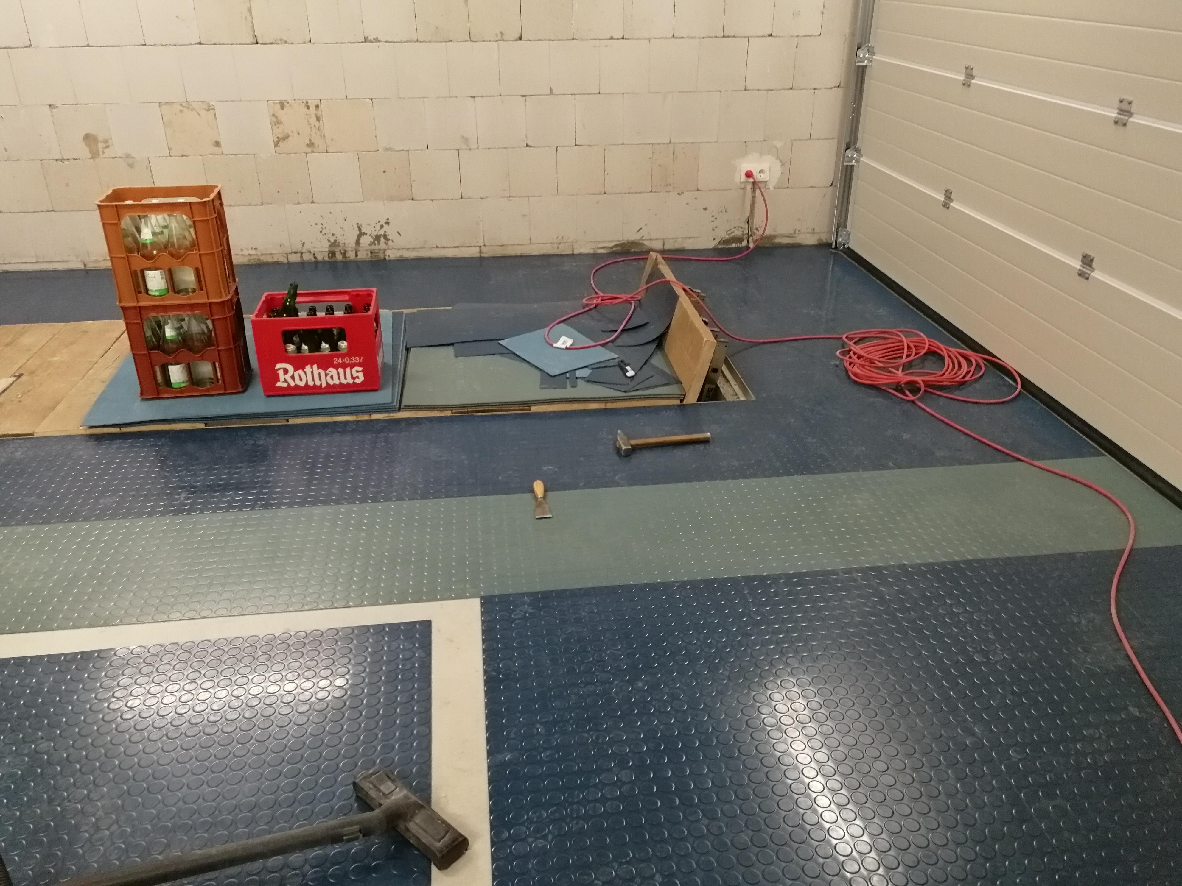 Osb Fußboden Werkstatt ~ Gsfwa werkstattboden im arschkalten garagenkeller seite