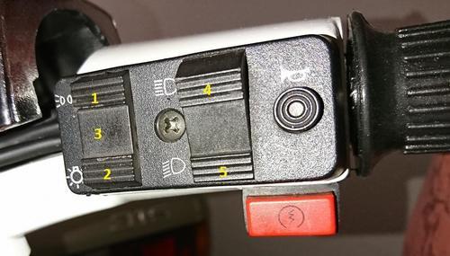 PX Lusso Lichtschalter / Funktionsproblem ? - Vespa PX, T5, Cosa etc ...