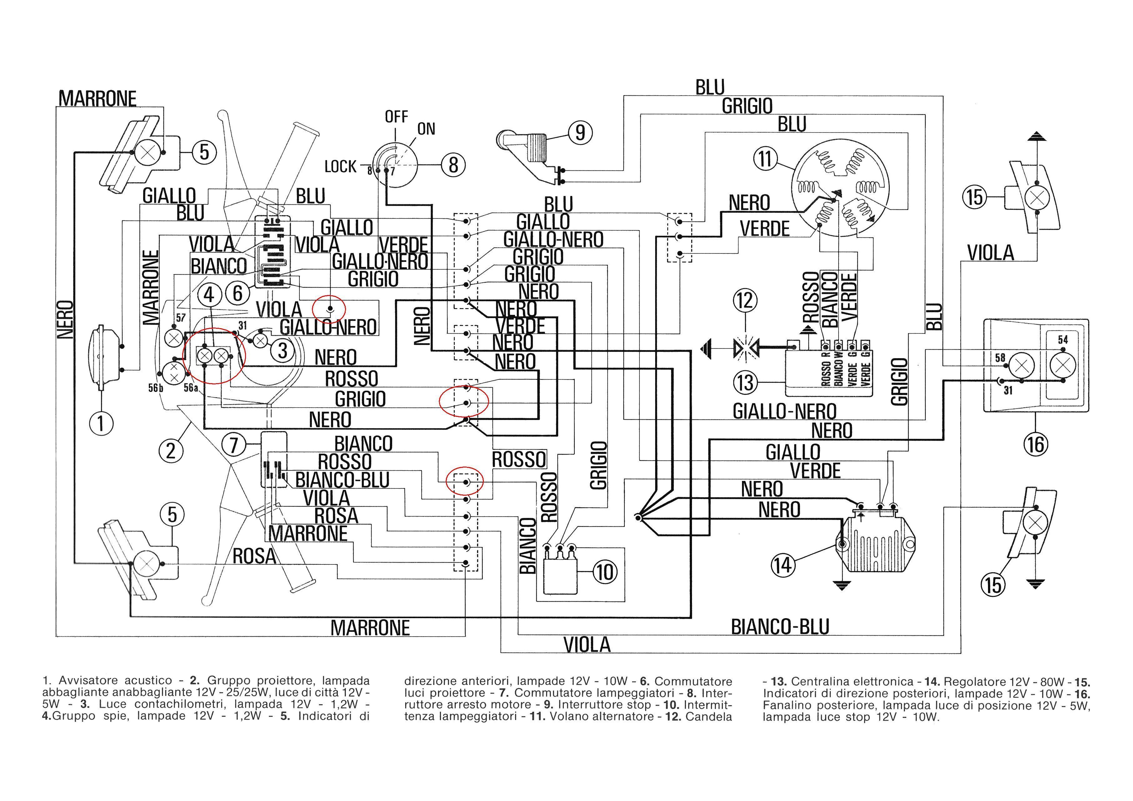 Vespa Pk 50 Wiring Diagram. . Wiring Diagram on